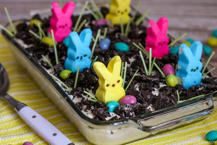 Easter Pudding Desserts  BEST Easter Dirt Cake