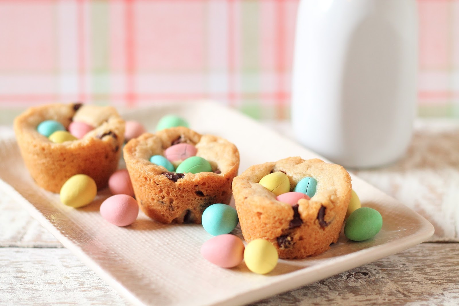 Easter Recipes Dessert  Getting My Just Desserts Chocolate Chip Cookie Nests