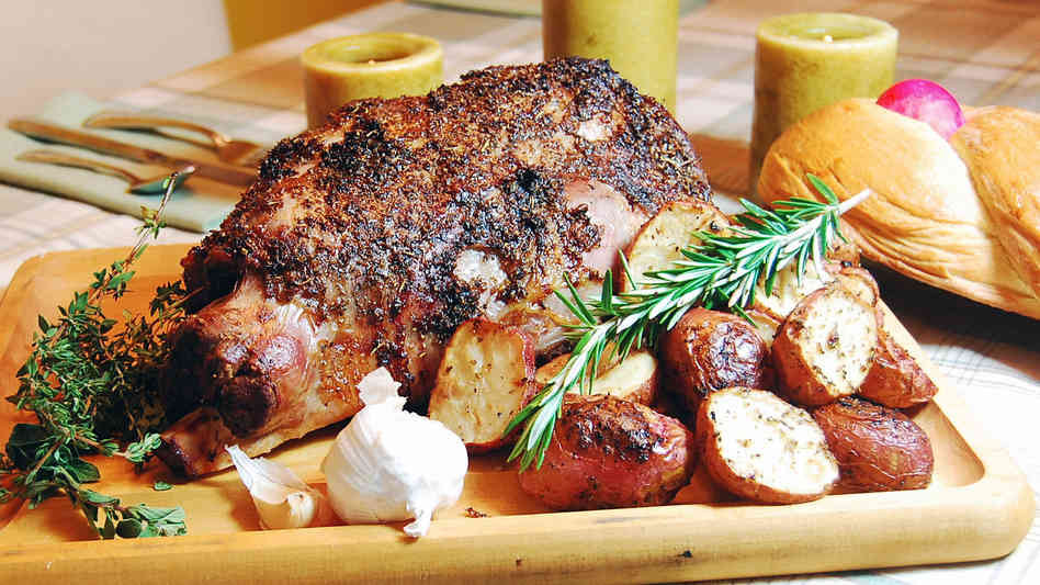 Easter Roast Lamb  Easter Culinary Traditions