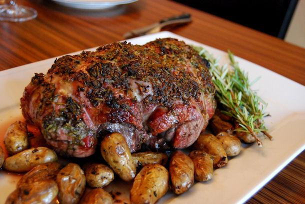 Easter Roast Lamb  Epicurus Recipes