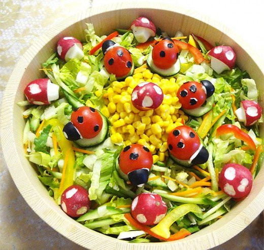 Easter Salads To Make  Amazing Easter Food Ideas