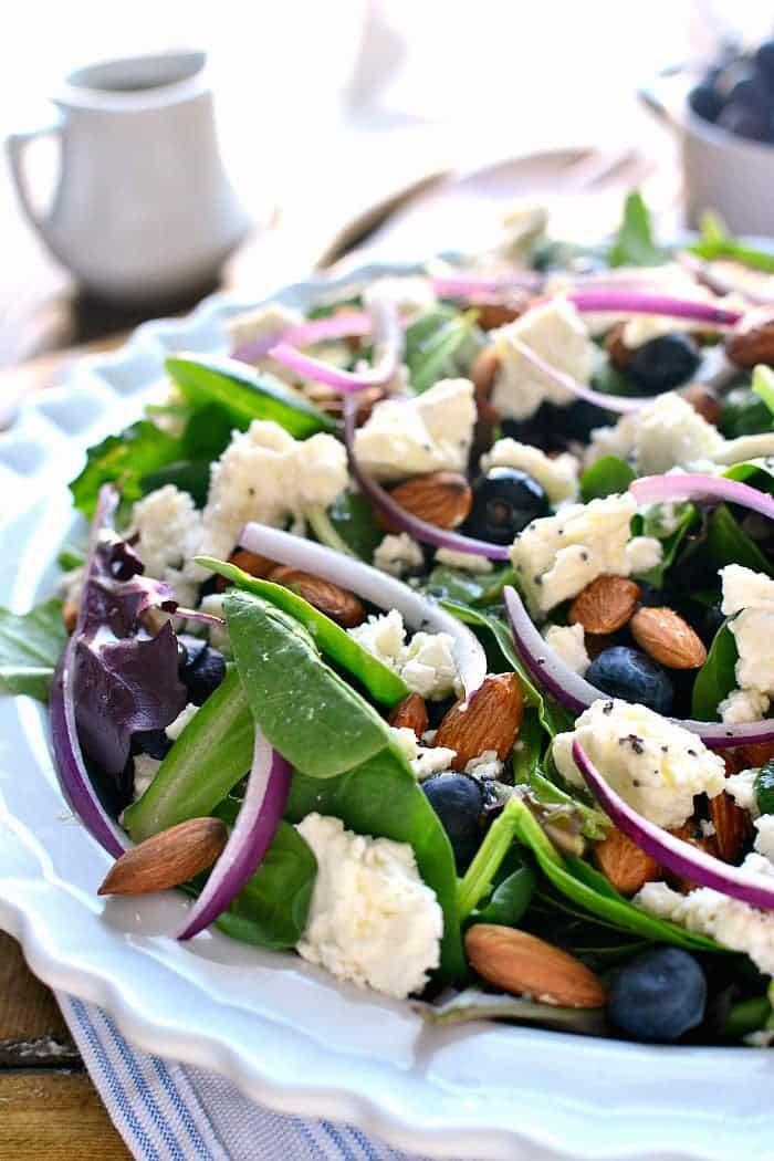 Easter Salads To Make  Blueberry Feta Salad