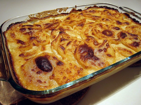 Easter Scalloped Potatoes  Easter Dinner Scalloped Potatoes Bunch