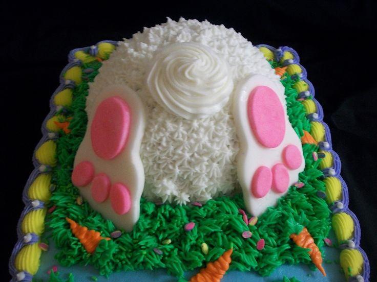 Easter Sheet Cake Ideas  Hoppy Easter Easter Pinterest