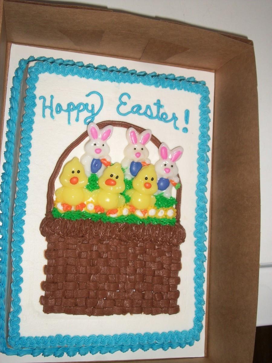 Easter Sheet Cake Ideas  Easter Cake CakeCentral