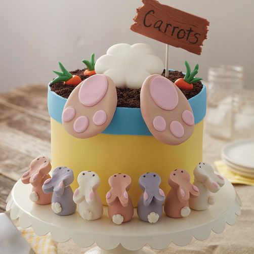 Easter Sheet Cake Ideas  Bunny Butt Easter Cake and Bunny Treats