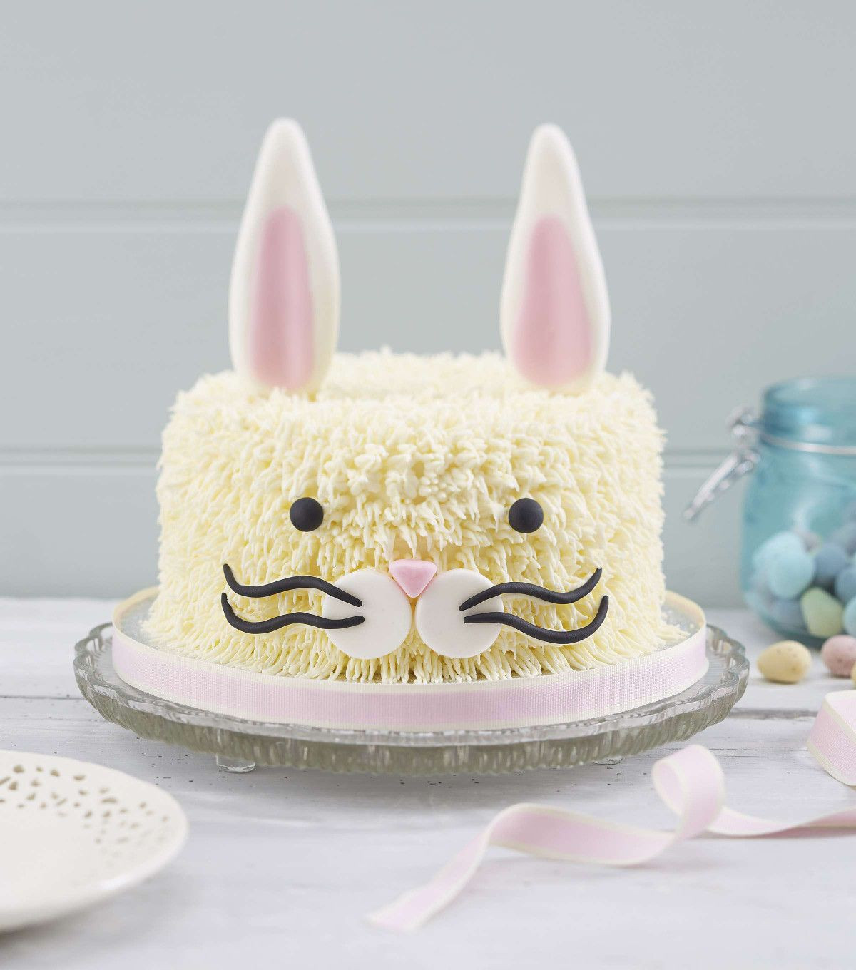 Easter Sheet Cake Ideas  How to Make an Easter Bunny Cake