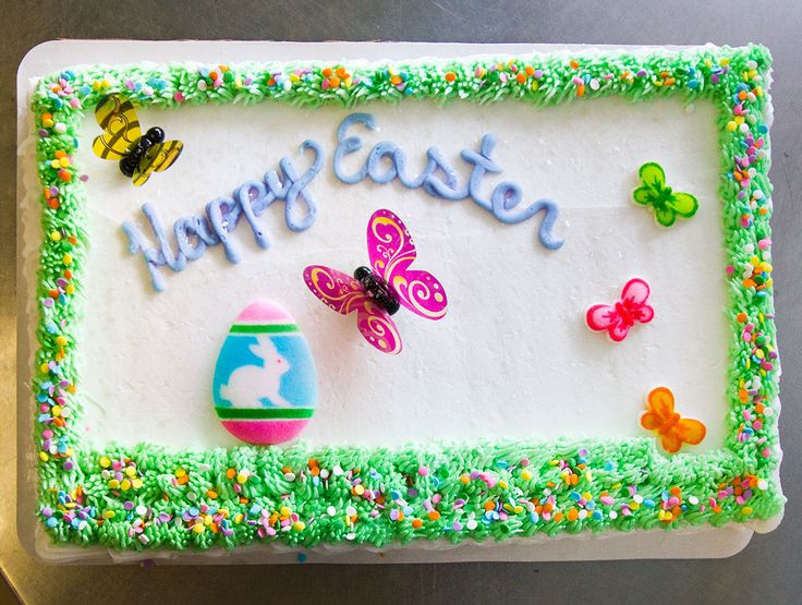 Easter Sheet Cake Ideas  1000 images about Easter Cakes on Pinterest