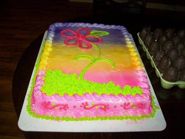 Easter Sheet Cake Ideas  Easter Cake Cake Decorating munity Cakes We Bake