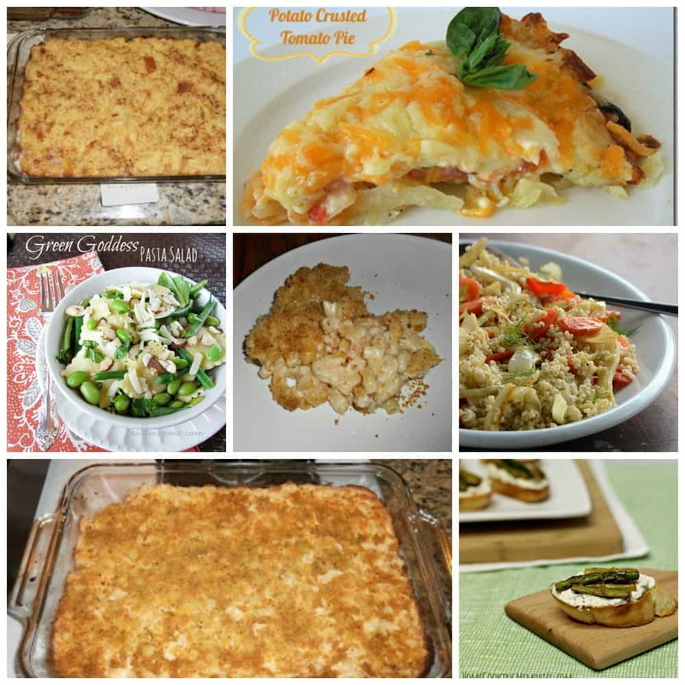 Easter Side Dishes  30 Easter Recipes Hezzi D s Books and Cooks