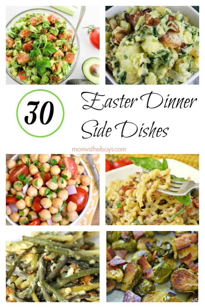 Easter Side Dishes Pinterest  30 Easter dinner side dishes ideas for your holiday feast