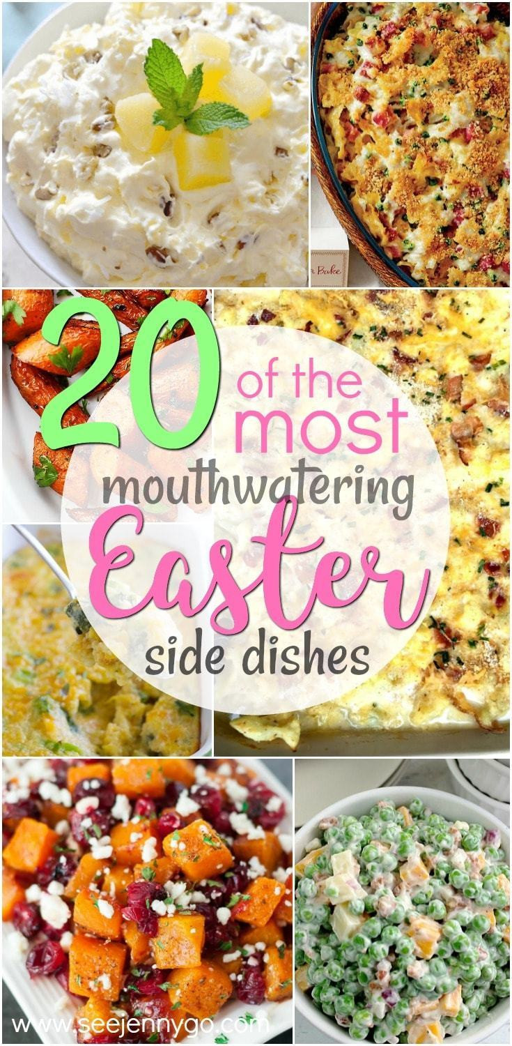 Easter Side Dishes Pinterest  Delicious Easter Side Dishes See Jenny Go