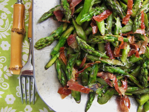 Easter Side Dishes  A Prettier Way to Cut Asparagus & A Tasty Easter Side Dish