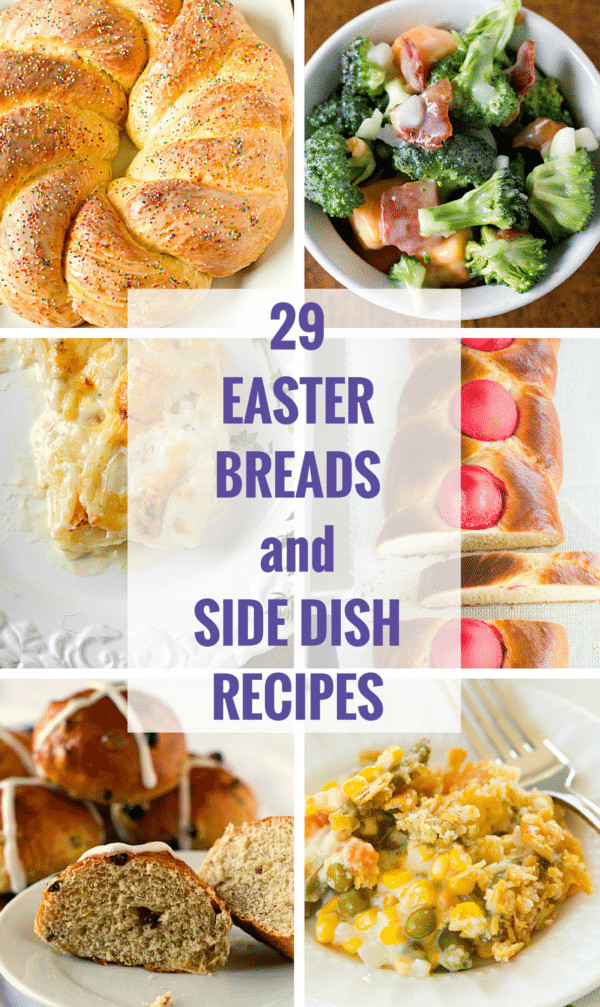 Easter Side Dishes To Go With Ham  29 Easter Breads and Side Dish Recipes