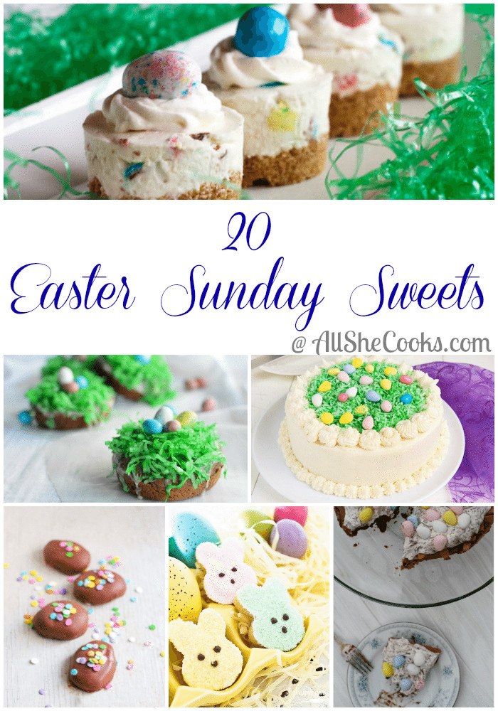 Easter Sunday Desserts  Planning Your Easter Menu Start Here