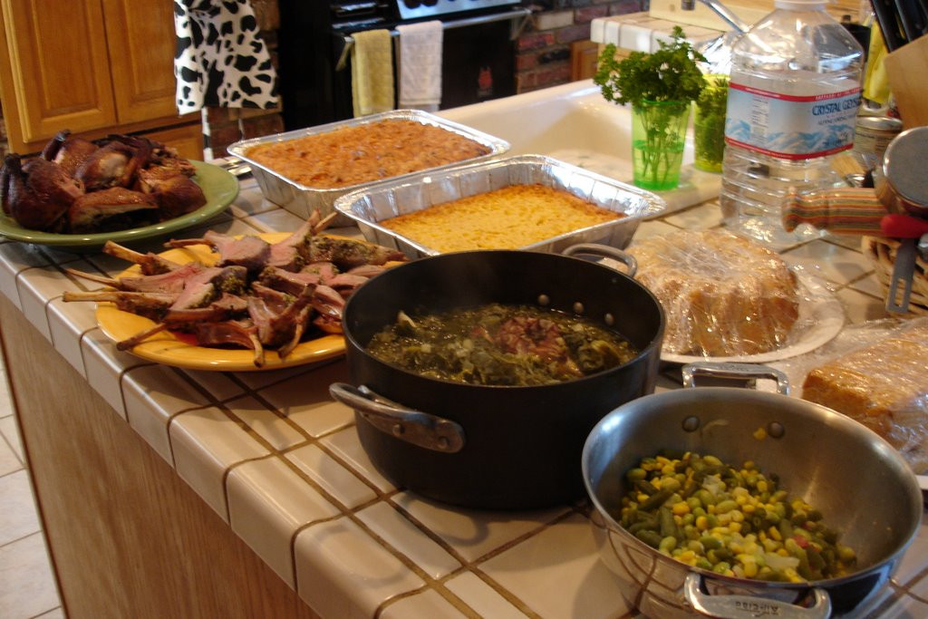 Easter Sunday Dinner  Lady of Q at Soul Fusion Kitchen Easter Dinner Soul