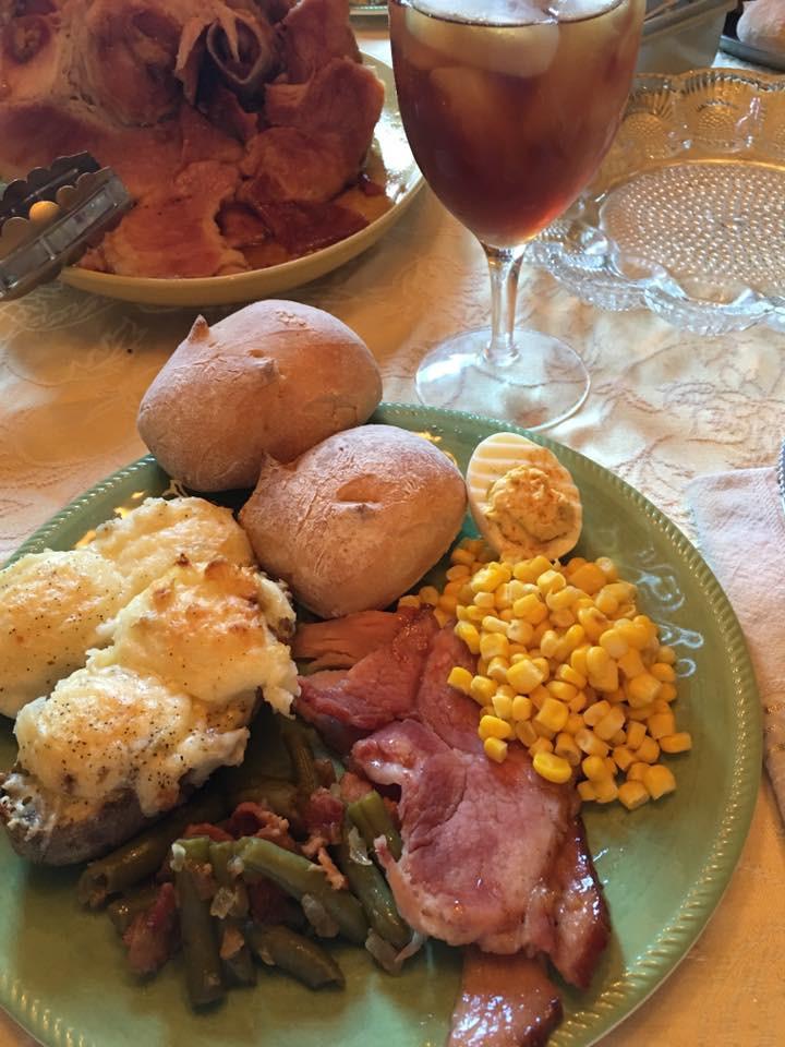 Easter Sunday Dinner  Aunt B s Cookin Easter Sunday Dinner
