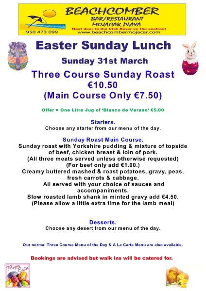 Easter Sunday Dinner Menu  17 Best images about Happy Easter Day on Pinterest