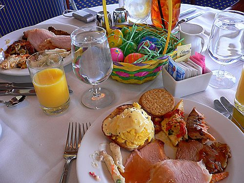 Easter Sunday Dinner Restaurants  Easter Brunch Served at Mr Lucky's of Pleasant Hill March