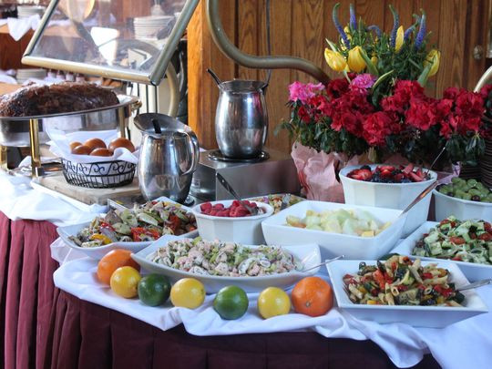 Easter Sunday Dinner Restaurants  Five Morris County restaurants serving Easter Sunday brunch