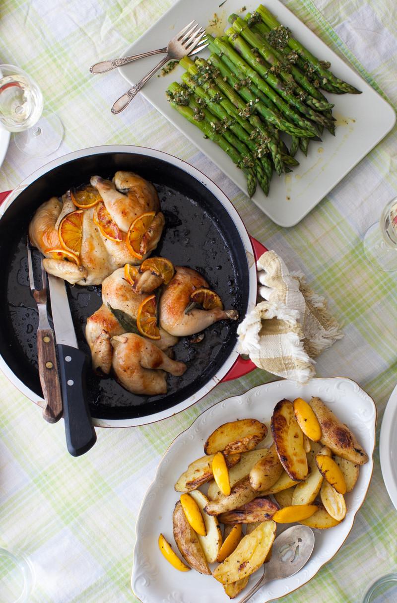 Easter Sunday Dinner  Bringing back Sunday dinner