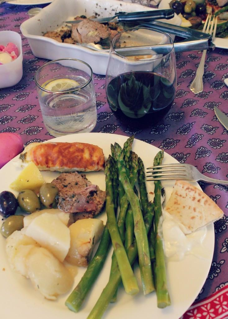 Easter Sunday Dinner  Multicultural Meal Plan Greek Easter Menu Marie s