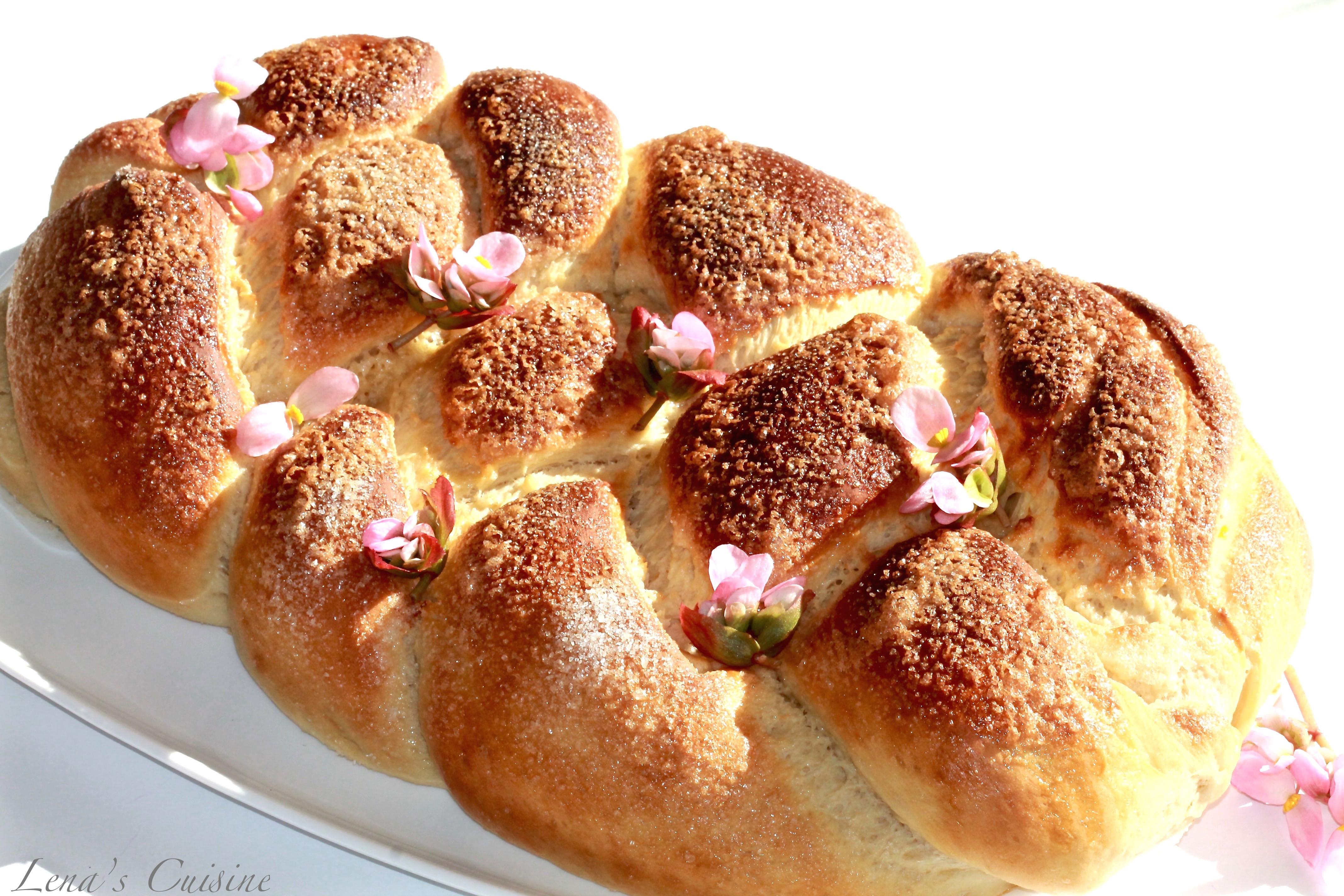 Easter Sweet Bread Recipe  Sweet Easter Bread Lena s Cuisine