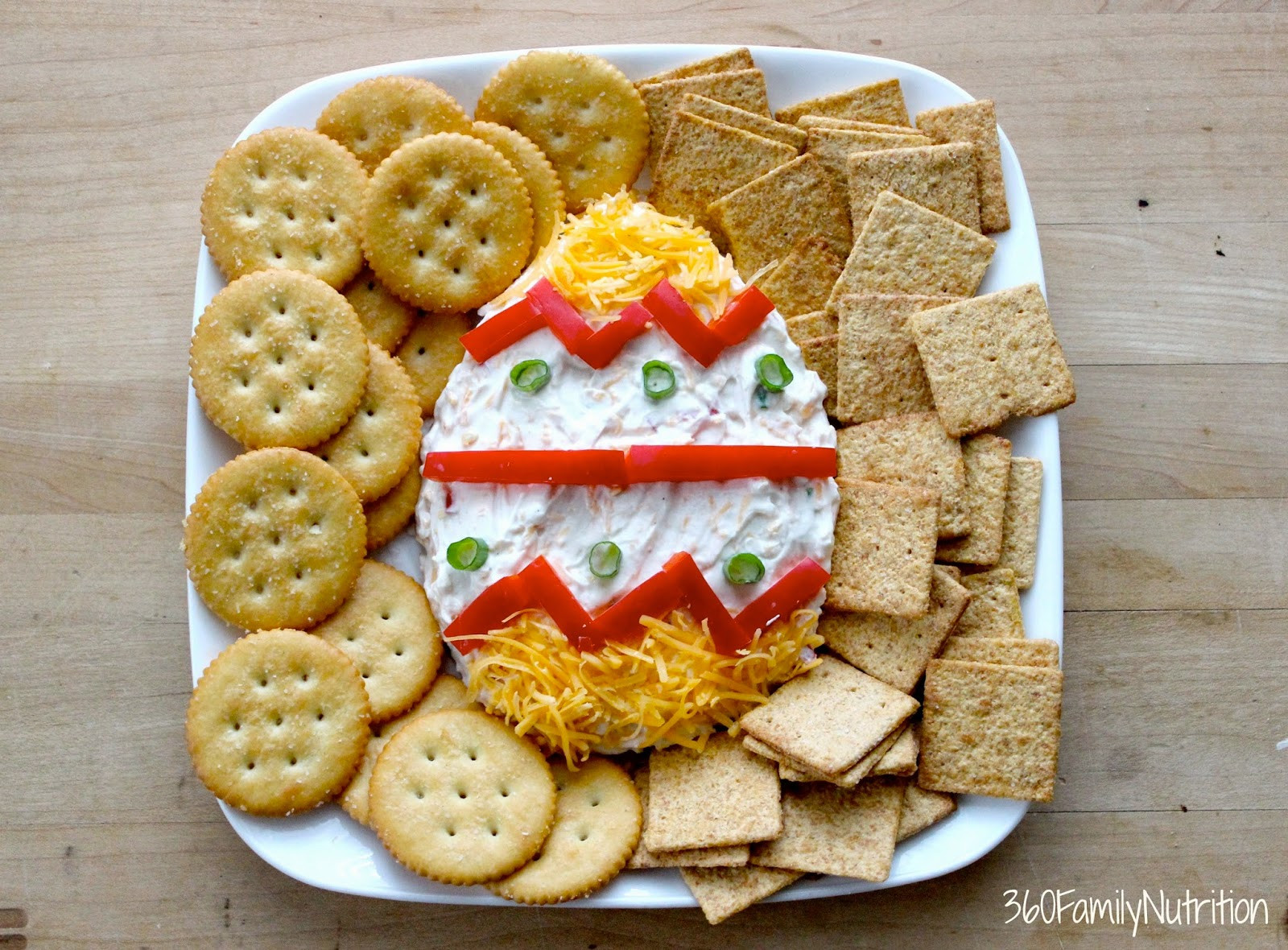 Easter themed Appetizers the Best Easter Egg Greek Yogurt Cheese Dip 360 Family Nutrition