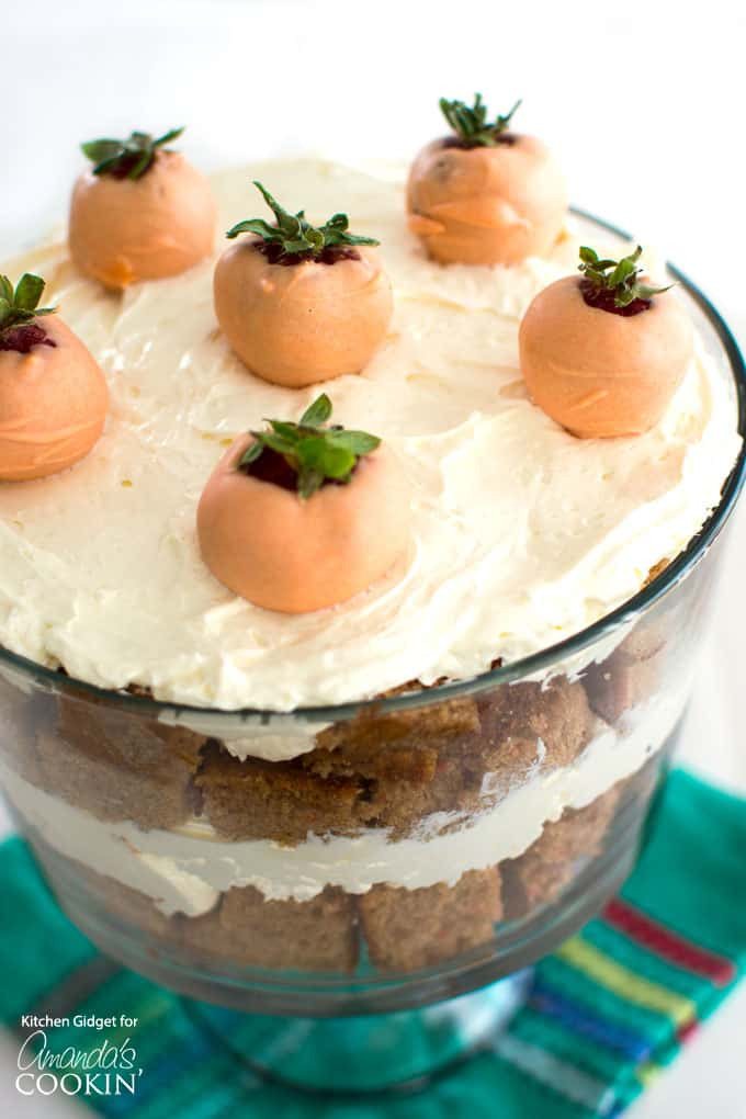 Easter Trifle Desserts  Carrot Cake Trifle the perfect Easter dessert recipe