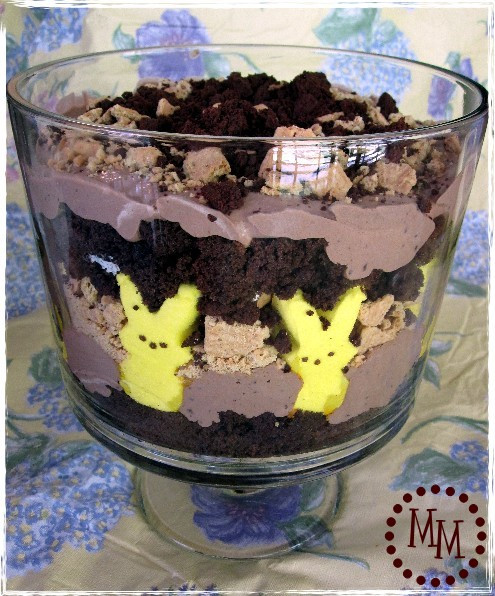Easter Trifle Desserts  S mores Trifle Recipe The Scrap Shoppe