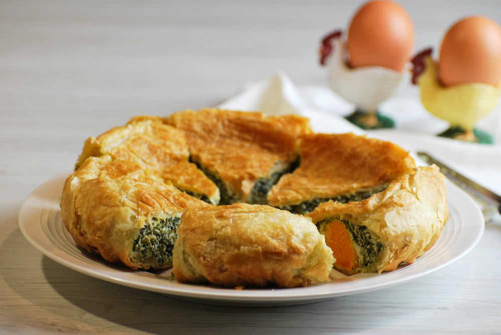 Easter Vegetarian Recipes  Ve arian Easter Pie