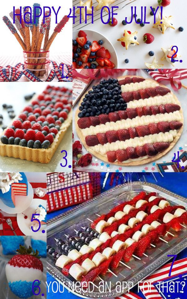 Easy 4Th Of July Appetizers  Easy 4th of July appetizers You can thank me later