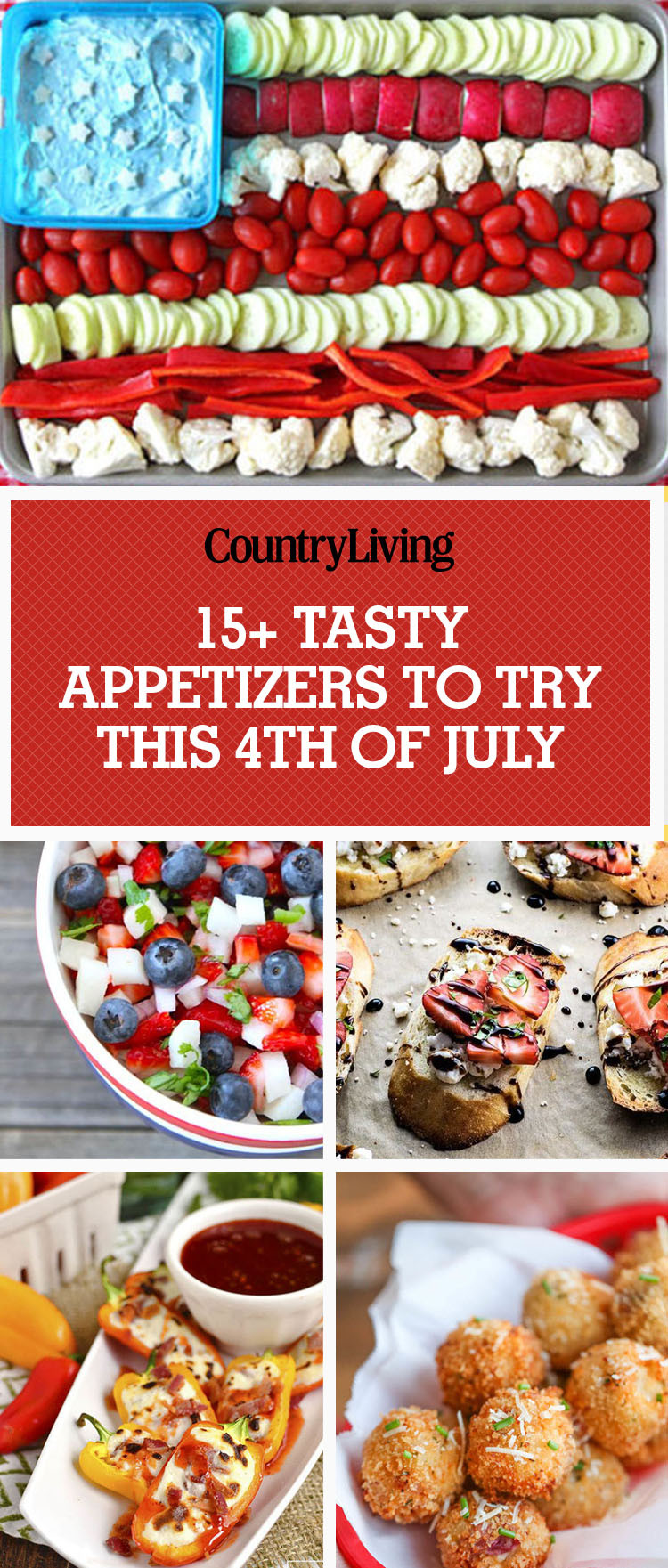 Easy 4Th Of July Appetizers  17 Easy 4th of July Appetizers Best Recipes for Fourth