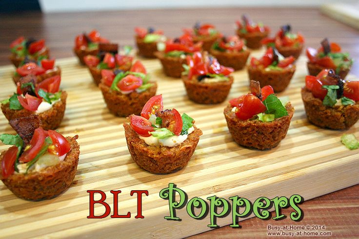 Easy 4Th Of July Appetizers  BLT Poppers Recipe – a Simple Delicious 4th of July Appetizer