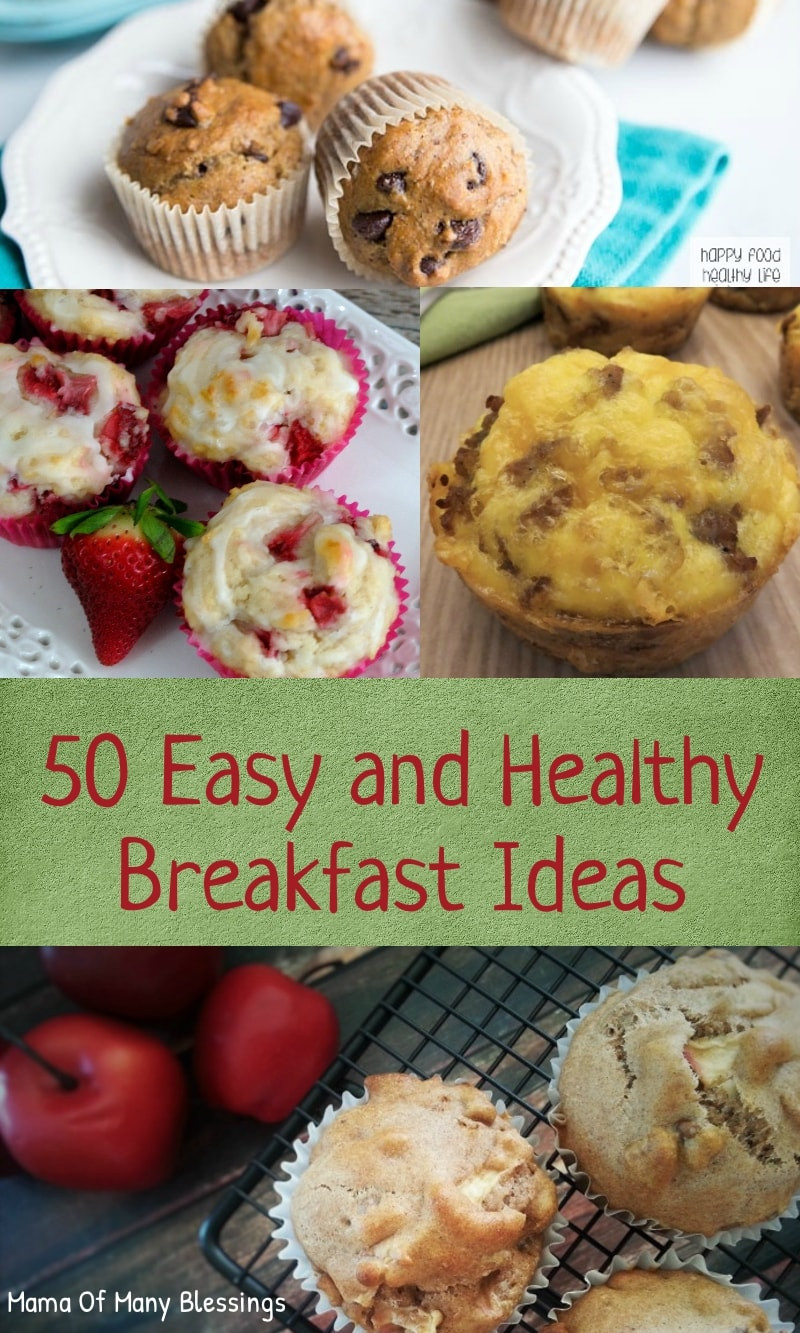 Easy And Healthy Breakfast Ideas  50 Delightful Easy and Healthy Breakfast Ideas