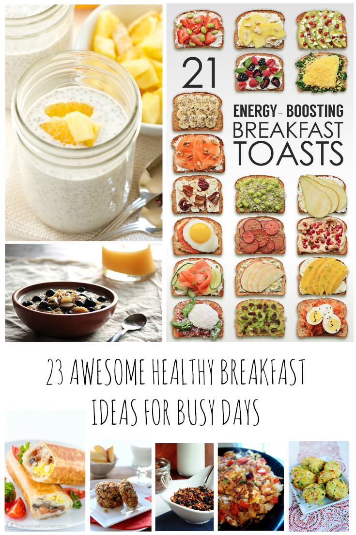 Easy And Healthy Breakfast Recipes  simple healthy breakfast recipes