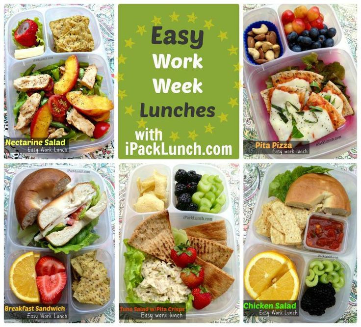 Easy And Healthy Lunches For Work  Over 50 Healthy Work Lunchbox Ideas Family Fresh Meals