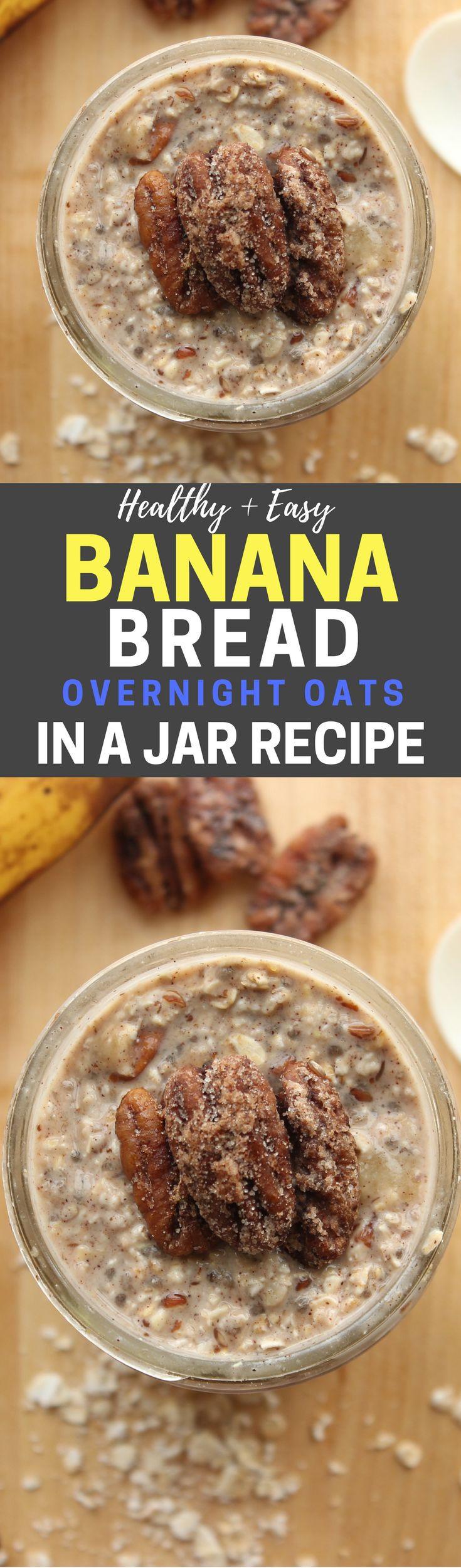 Easy Banana Recipes Healthy  Best 25 Healthy breakfasts ideas on Pinterest