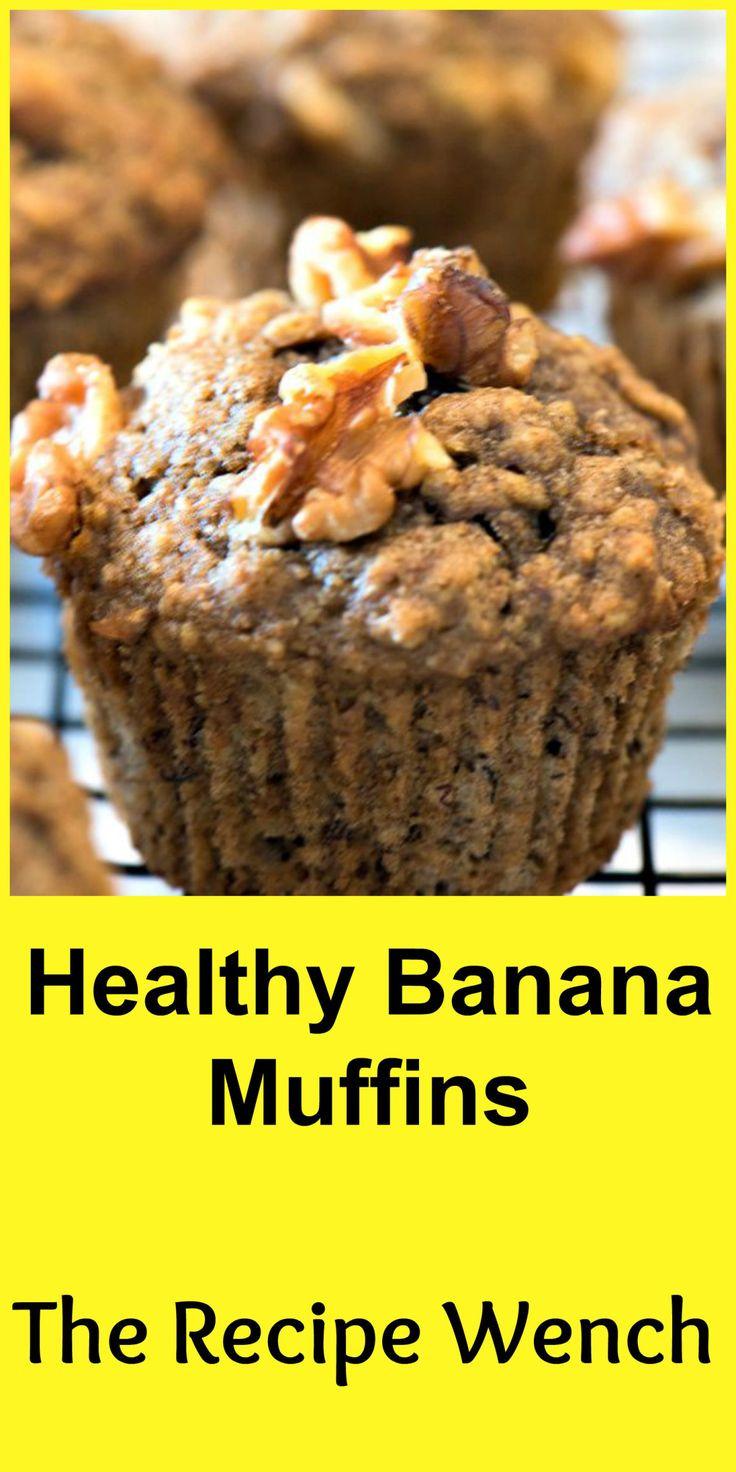 Easy Banana Recipes Healthy  Healthy Banana Muffins Recipe