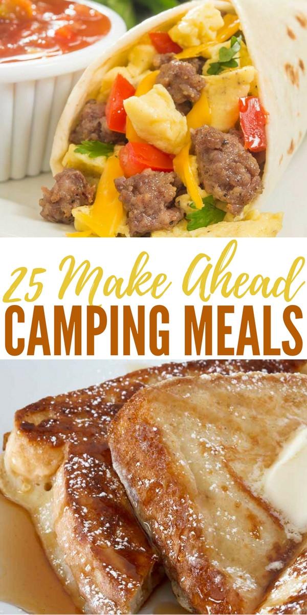 Easy Camping Dinner  25 Make Ahead Camping Meals SHTFPreparedness