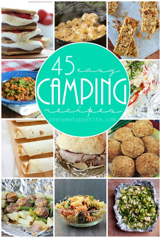 Easy Camping Dinner Ideas  45 Easy Camping Recipes e Sweet Appetite