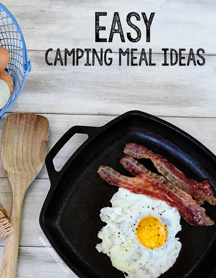 Easy Camping Dinner Ideas  Easy Camping Meal Ideas