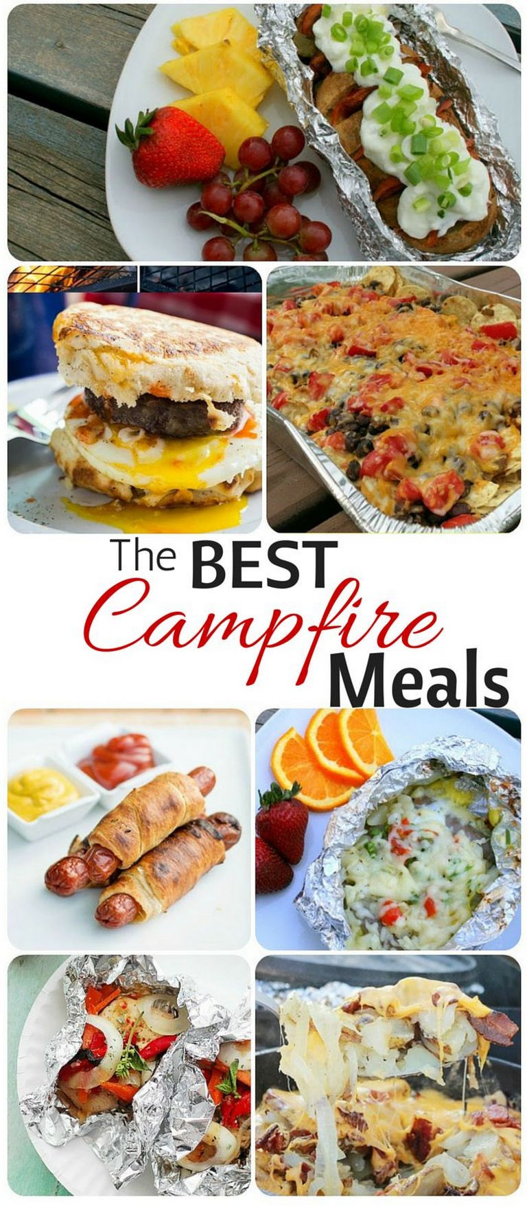 Easy Camping Dinner Ideas  Easy camping meals campfires ideas 34 ⋆ TRENDXYZ