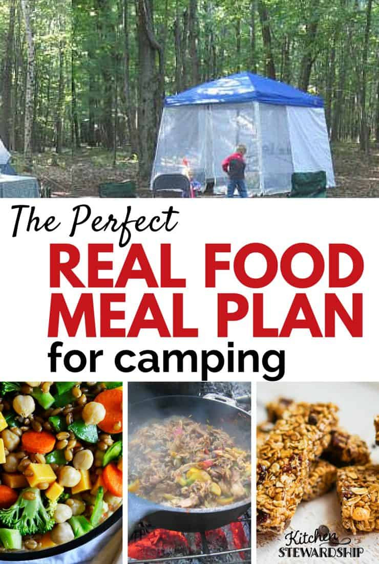 Easy Camping Dinner Ideas  Healthy Camping Meal Plan with Real Food