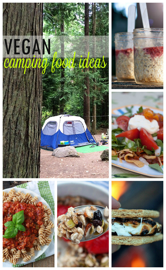 Easy Camping Dinner  Vegan Camping Food Ideas Kitchen Treaty