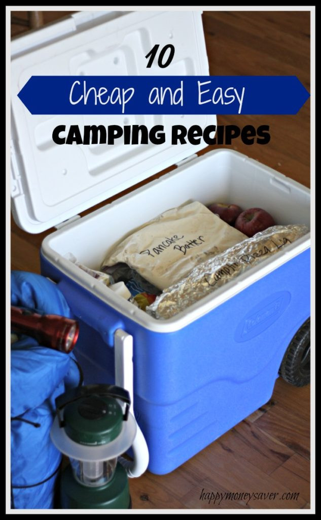 Easy Camping Dinner  10 Easy and Cheap Camping Meals