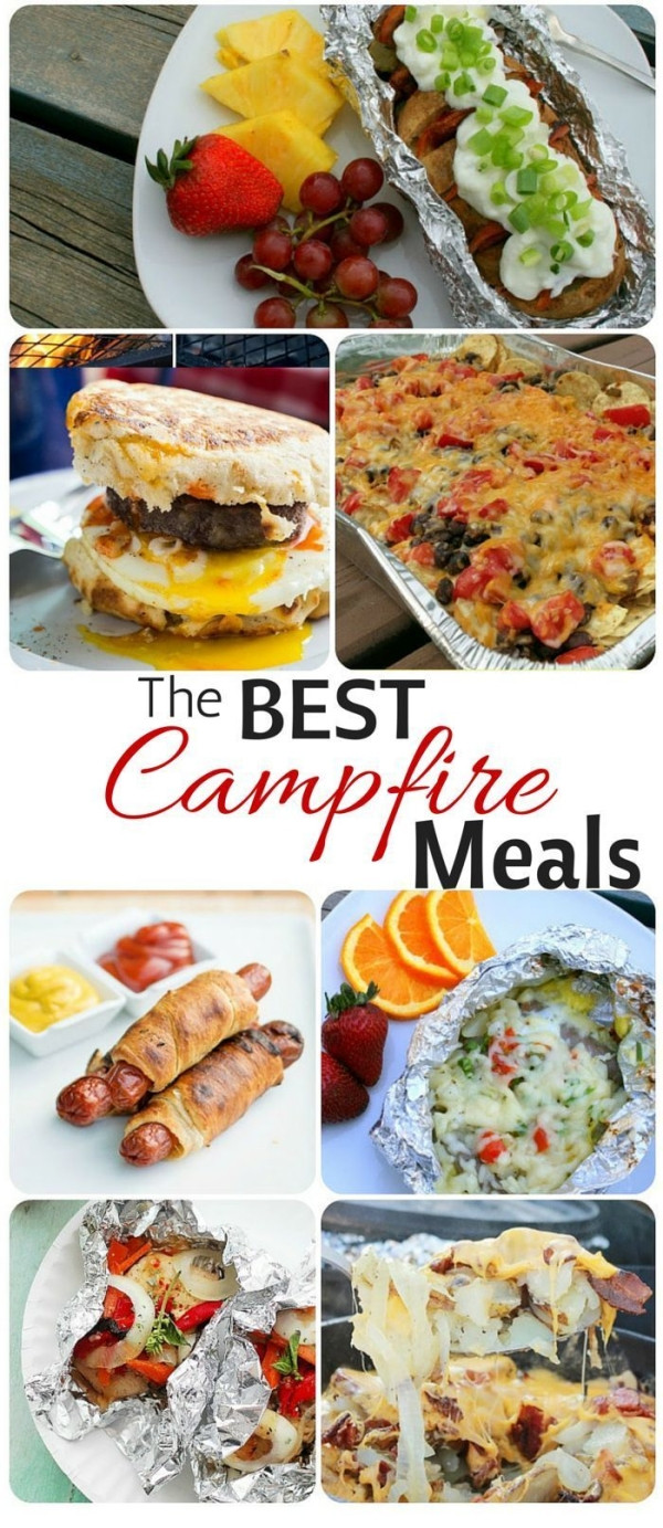 Easy Camping Dinner  Simple and Easy Camping Meals Breakfast Lunch Dinner