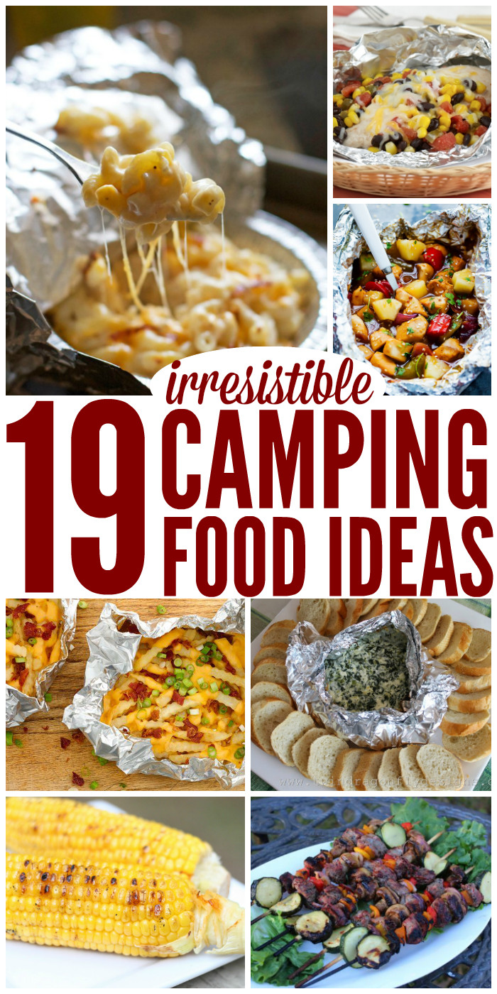 Easy Camping Dinners  27 Irresistible Camping Food Ideas