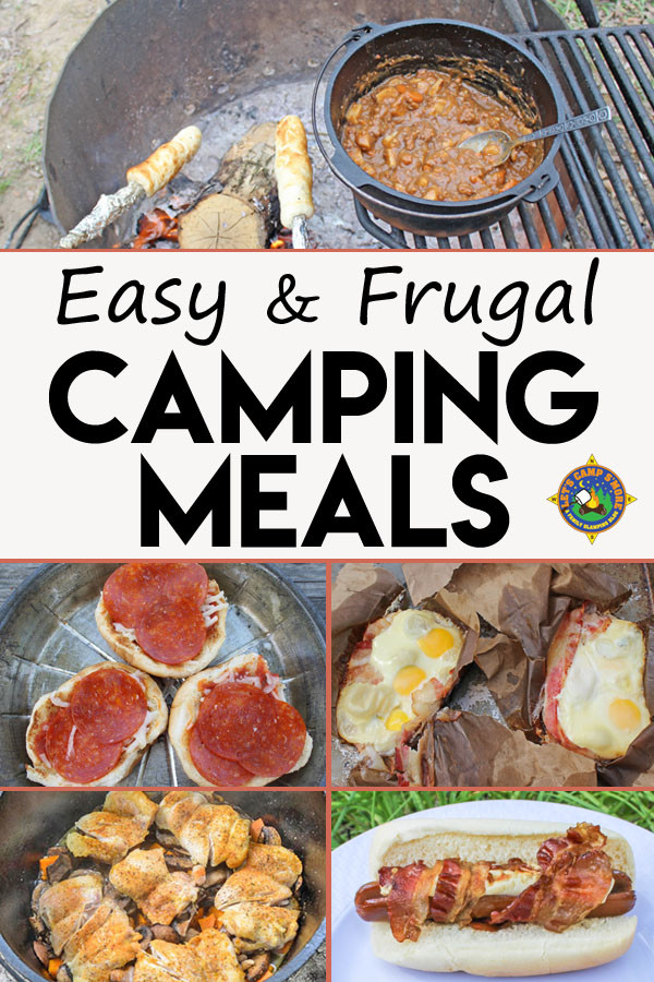 Easy Camping Dinners  Frugal Easy Camping Meals for Your Next Weekend Campout