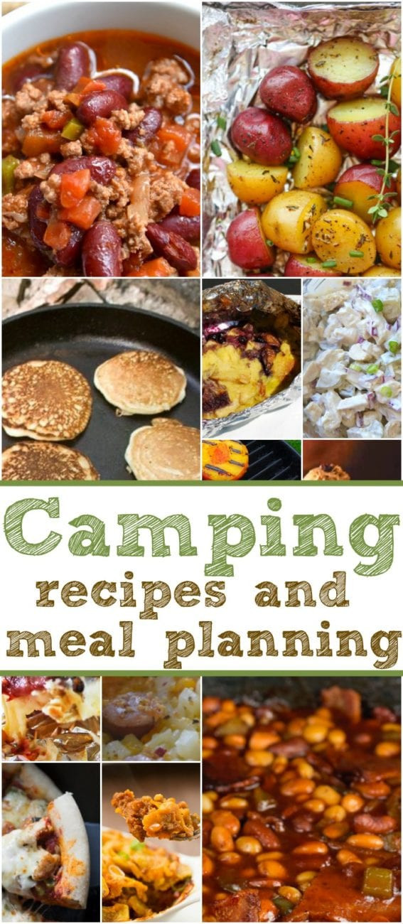 Easy Camping Dinners  Easy Camping Recipes and Meal Planning · The Typical Mom